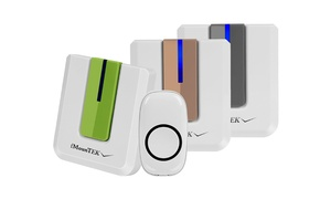 iMountek Portable 52-Melody Wireless Doorbell