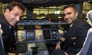 FlightCheck-Mannheim: 60 oder 120 Min. Boing 737 oder Airbus A380 im Flugsimulator von FlightCheck-Mannheim (bis zu 60% sparen*)