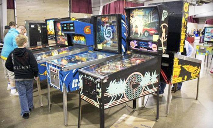 Klassic Arcade - Kalamazoo: Two or Four Passes to Pinball at the 'Zoo on April 19 at Kalamazoo County Expo Center from Klassic Arcade (Half Off)