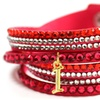 Up to 90% Off Wrap Bracelet with Initials
