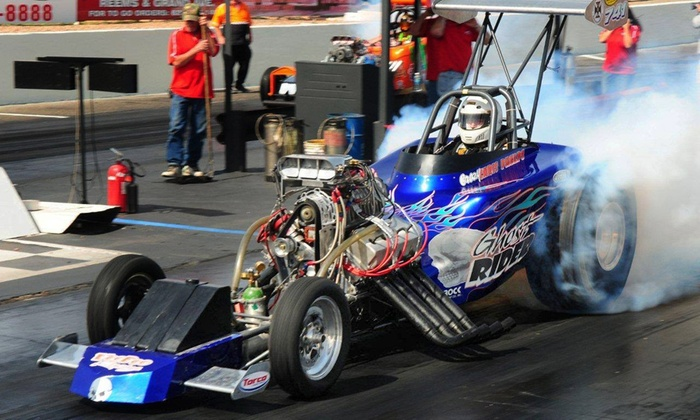 Wild Horse Pass Motorsports Park - Chandler: $20 for Admission to Halloween Nitro Havoc Jr. Drags at Wild Horse Pass Motorsports Park ($40 Value)