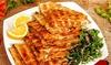 Menú libanés para 2 o 4