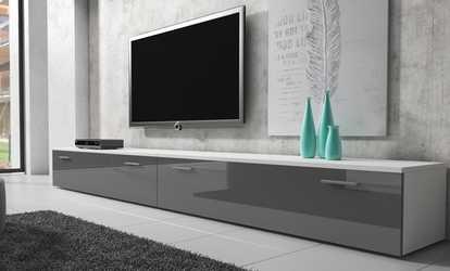 Credenza Per Tv : Moda casa interni credenza mahon in noce e mdf laccato mh l