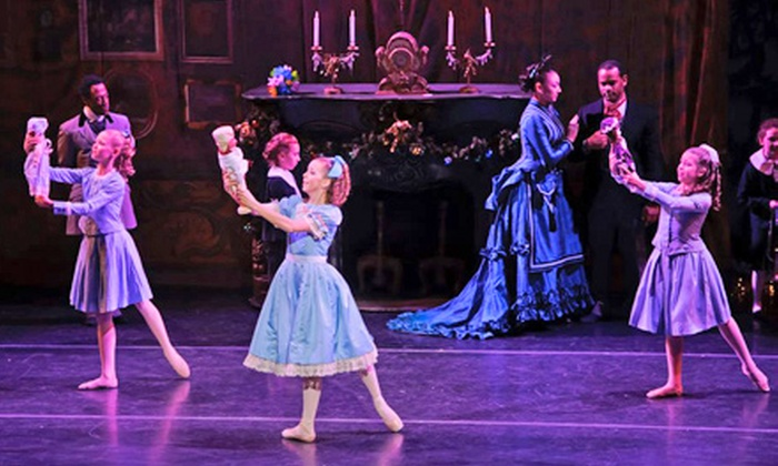 """""""The Nutcracker"""" - Edison Theatre: """"The Nutcracker"""" presented by Missouri Ballet Theatre at Edison Theatre on December 21 or 22 at 2 p.m. (Up to 51% Off)"""