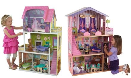 Casa della bambole di kidkraft groupon for Groupon shopping arredamento