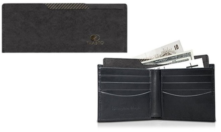 Thabto Men's Black Wallet Divider Insert