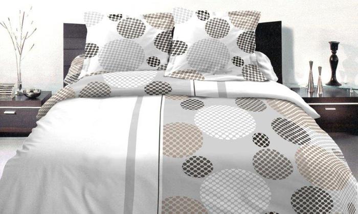 housse de couette groupon. Black Bedroom Furniture Sets. Home Design Ideas