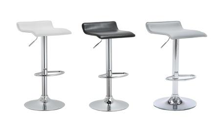 Bar Stool with Footrest Set (2-Piece)