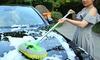 Retractable Wash & Dust Mop Brush