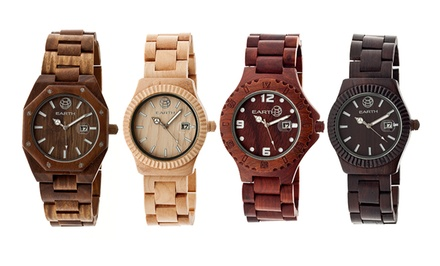 Unisex Earth Wood Watches