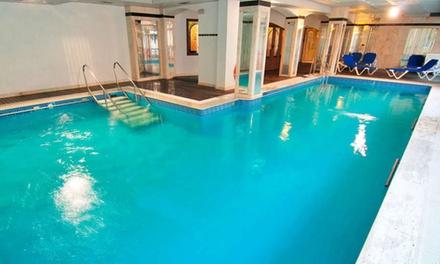 Béjar: estancia para 2 personas con media pensión, piscina climatizada, sauna y baño turco en Colón Hotel & Spa