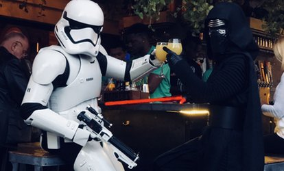 image for Crawl Wars Pub Crawl for One or Two on Saturday, May 12 at 7 .p.m. (Up to 52% Off)