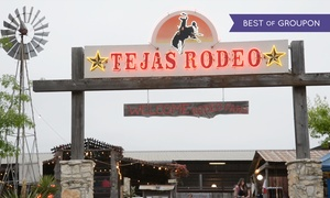 Tejas Rodeo Company: Steakhouse Dinner Cuisine for Two or Four at Tejas Rodeo Company (Up to 42% Off)