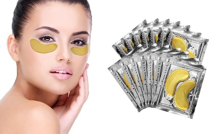 24K Gold Gel AntiAging Collagen UnderEye Mask 14Pack: One $17.95 or Two $27.95 Don't Pay up to $78