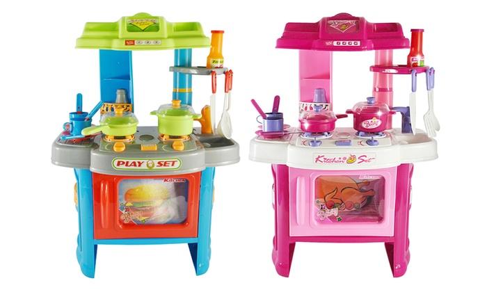 Cucina per bambini groupon - Mini cucina per bambini ...
