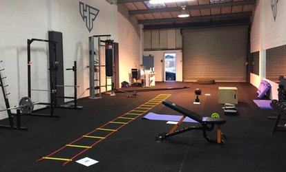 image for One-Month Class Pass with a Personal Training Session at Hello Fit (67% Off)