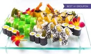 Japan Sun Sushi & Grill (stare dane): Japońskie przysmaki: wybrany zestaw sushi od 69,99 zł w Japan Sun Sushi & Grill w Rybniku (do -44%)