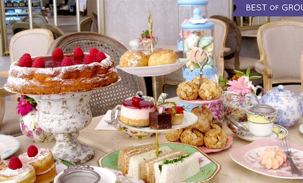 Regular Or Gluten Free Afternoon Tea With Mocktail Each For Two Or Four At Fait Maison Five Locations Up To 65 Off