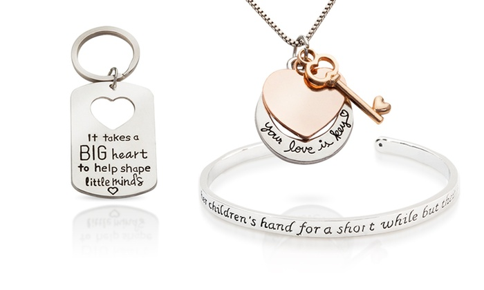 Stamp The Moment: Custom Stamped Jewelry from Stamp the Moment (Up to 78% Off). Five Options Available.