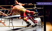 Extreme American Wrestling: 5 March or 3 December at The Pemberton Centre, Rushden (Up to 38% Off)