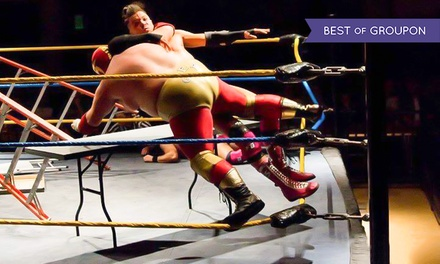 Extreme American Wrestling, Child, Adult and Family Tickets, 2 April - 5 November, The Pemberton Centre (Up to 37% Off)