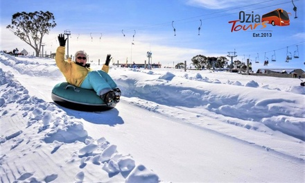 Sydney to Selwyn: One-Day Overnight Mt Selwyn Snow Tour for One Person with Ozia Tours