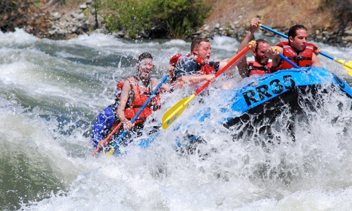River Recreation - Multiple Locations: $39 for $80 Worth of Whitewater Rafting at River Recreation