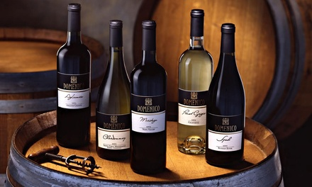 Wine Tasting for Two with Optional Take-Home Bottle of Wine at Domenico Winery (Up to 55% Off)