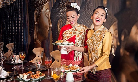 Two-Course Thai Meal for Two or Four at Chaophraya (Up to 50% Off)