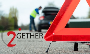 2Gether Motor Breakdown: 12-Month Full UK Motor Breakdown with Home assistance from 2Gether Motor Breakdown (78% Off)
