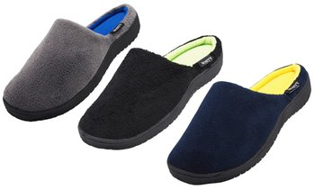Norty Men's Slip-On Memory Foam Clog Slippers