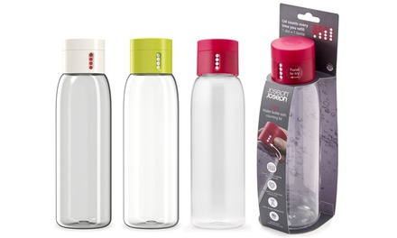 One or Two Joseph Joseph HydrationTracking Water Bottles 600ml