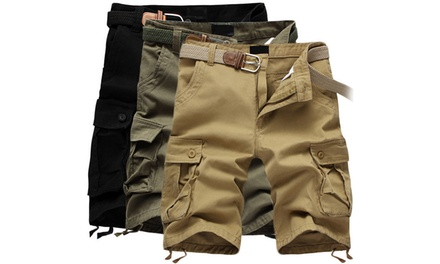 Mens Cargo Shorts in Choice of Colour