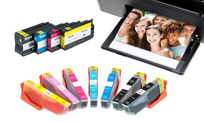 Multiples cartouches d'encre pour Brother, Canon, Epson, HP et Lexmark dès 6,99€