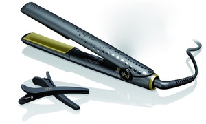 """Ghd Ooh La La Limited Edition Gold Kit With Gold Professional 1"""" Flat Iron, Straight & Smooth Spray, Brush, And Clips"""
