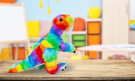 Plush Multicolour Dinosaur