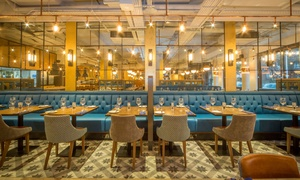 Hawkers Bar and Brasserie: Two- or Three-Course Lunch with Prosecco for Up to Four at Hawkers Bar and Brasserie (Up to 46% Off)