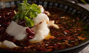 Red Chilli Sichuan Restaurant - Harbour Plaza: Sichuan Banquet with Prawns for Two ($59.95), or Four People ($119.95) at Red Chilli Sichuan (Up to $183 Value)