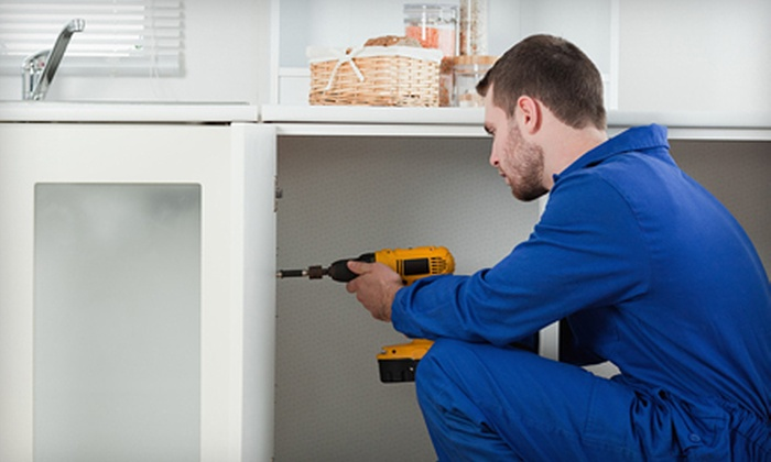 Home Facelifters - Springfield, MA: 2, 4, or 10 Man-Hours of Handyman Services from Home Facelifters (Up to 78% Off)