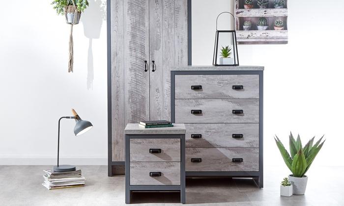Three- or Four-Piece Boston Bedroom Furniture Set