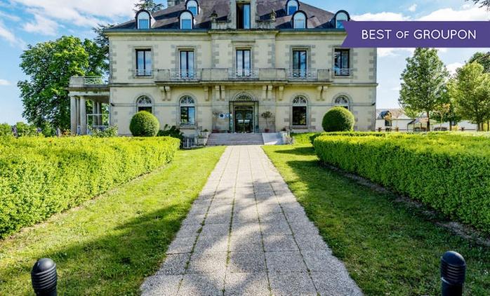 Proche de Poitiers : 1 à 3 nuits, petit déjeuner et dîner en option au Manoir de Beauvoir pour 2 personnes