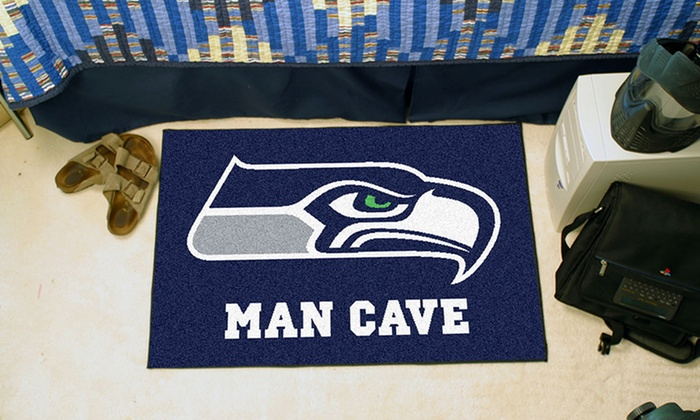 Man Cave Gifts Coupon Code : Nfl man cave starter mats groupon goods