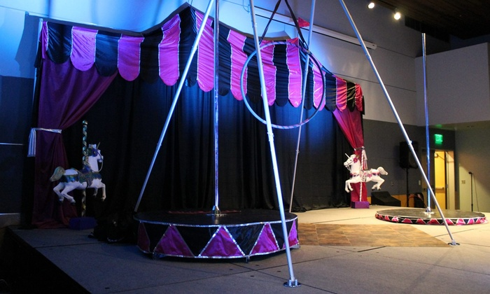 Kids Circus Class - Parkland: One 1- or 1.5-Hour Circus Party for Five to Eight  Kids
