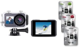 Caméras sport ultra HD 4K/64Go
