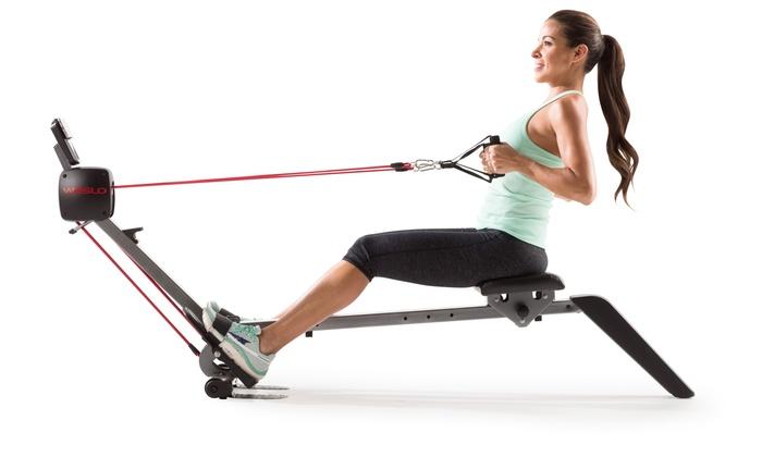 weslo rowing machine