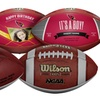 Up to 54% Off Personalized Wilson NFL or NCAA Footballs
