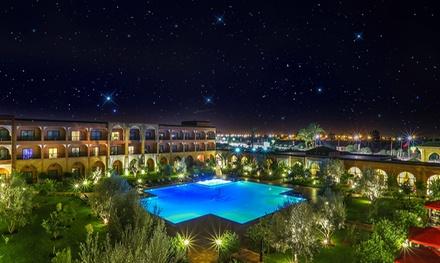 Marrakech : 1 à 7 nuits pour 2 adultes et 1 enfant de  12 ans, petit déjeuner et dîner au Riad Ennakhil & SPA 5*