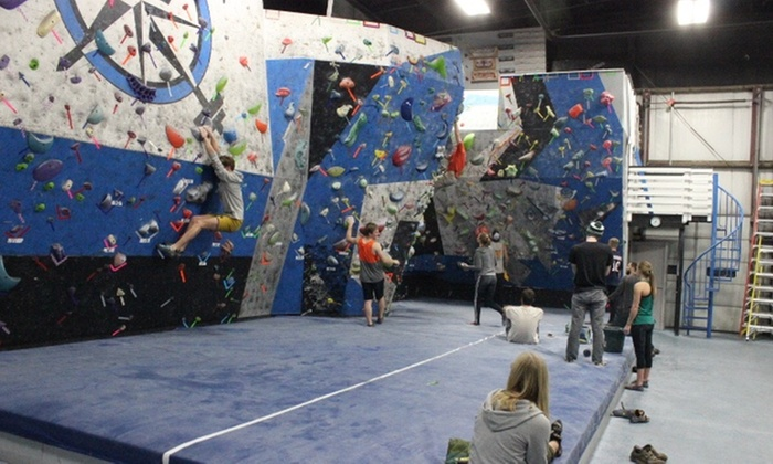 Rock Climbing at CrossFit Soaring Ledge (Up to 50% Off). Six Options Available.