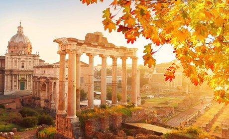 Roma: fino a 3 notti in camera doppia con colazione