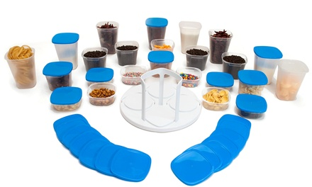 XS QUO Spin System 24 Food Containers